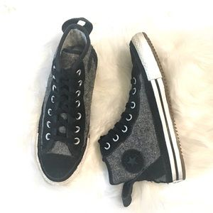 Converse All Star Tweed High Tops